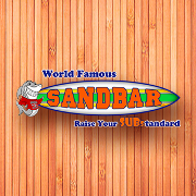 This is the restaurant logo for Sandbar Subs