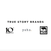This is the restaurant logo for True Story Brands