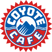 This is the restaurant logo for Coyote Cafe