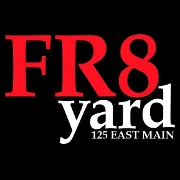 This is the restaurant logo for FR8yard