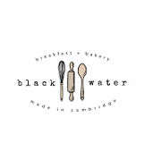 This is the restaurant logo for Black Water Bakery