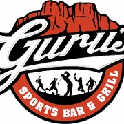 This is the restaurant logo for Guru's Sports Bar & Grill