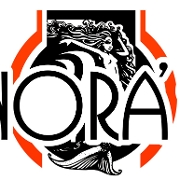 This is the restaurant logo for Nora's Grill & Catering