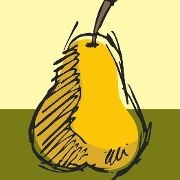 This is the restaurant logo for The Little Pear