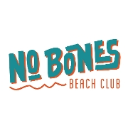 This is the restaurant logo for No Bones Beach Club