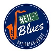 This is the restaurant logo for Neil St Blues