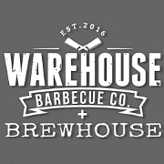 This is the restaurant logo for Warehouse Barbecue Co.