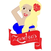 This is the restaurant logo for Zandra's Taqueria