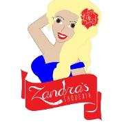 This is the restaurant logo for Zandra's Taqueria