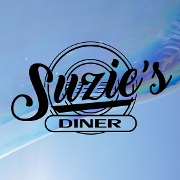 This is the restaurant logo for Suzie's Diner