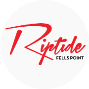 This is the restaurant logo for Riptide