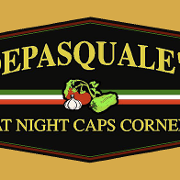 This is the restaurant logo for DePasquale's at Night Caps Corner
