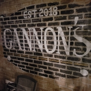 This is the restaurant logo for Gannon's Tavern