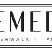 This is the restaurant logo for Remedy