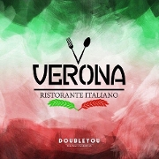 This is the restaurant logo for Verona Ristorante