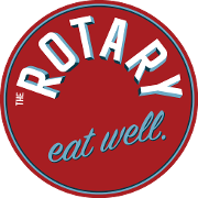 This is the restaurant logo for The Rotary