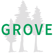 This is the restaurant logo for Grove