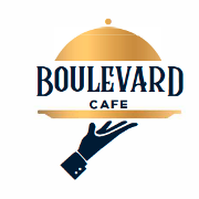 This is the restaurant logo for Boulevard Cafe