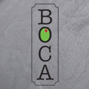This is the restaurant logo for BOCA