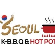 This is the restaurant logo for Seoul Korean BBQ