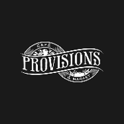 This is the restaurant logo for Provisions