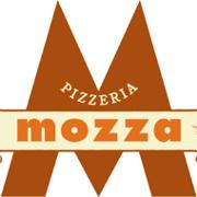 This is the restaurant logo for Pizzeria Mozza Newport Beach