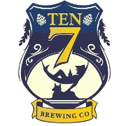This is the restaurant logo for Ten7 Brewing