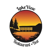 This is the restaurant logo for Lakeview Restaurant