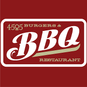This is the restaurant logo for 4505 Burgers & BBQ