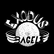This is the restaurant logo for Exodus Bagels