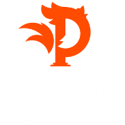 This is the restaurant logo for Los Pollos Rotisserie Grill