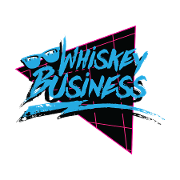 This is the restaurant logo for Whiskey Business