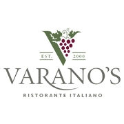 This is the restaurant logo for Varano's Italian Restaurant