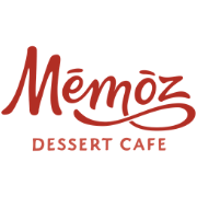 This is the restaurant logo for Mēmōz Dessert Cafe