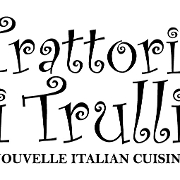 This is the restaurant logo for Trattoria i Trulli