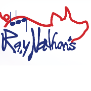 This is the restaurant logo for RayNathan's