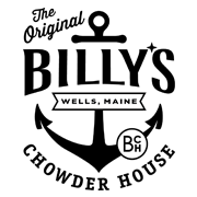 This is the restaurant logo for Billy's Chowder House