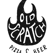 This is the restaurant logo for Old Scratch Pizza
