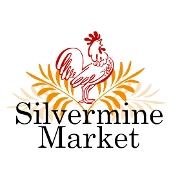 This is the restaurant logo for Silvermine Market