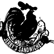 This is the restaurant logo for Jerry's Sandwiches