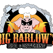 This is the restaurant logo for Big Barlow's BBQ & Catering