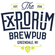 This is the restaurant logo for The Explorium Brewpub
