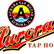 This is the restaurant logo for Aurora Taphouse