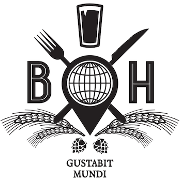 This is the restaurant logo for Burgerhaus
