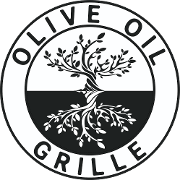 This is the restaurant logo for Olive Oil Grille