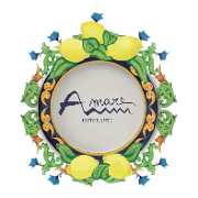 This is the restaurant logo for Amare Ristorante