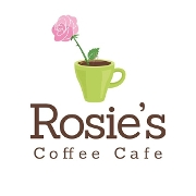 This is the restaurant logo for Rosie's Cafe