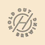 This is the restaurant logo for Hold Out Brewing