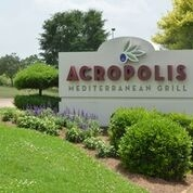 This is the restaurant logo for Acropolis
