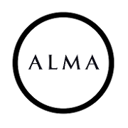 This is the restaurant logo for Alma